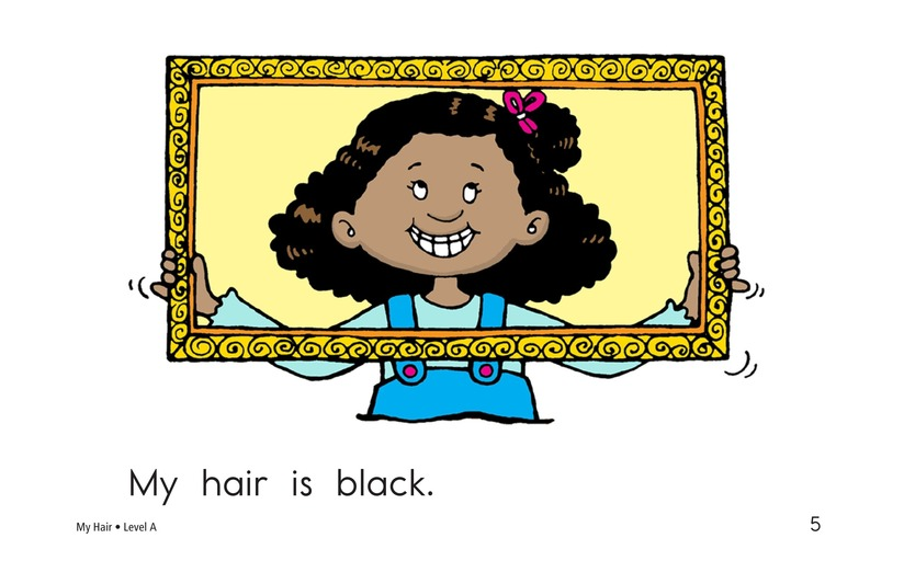 Book Preview For My Hair Page 5