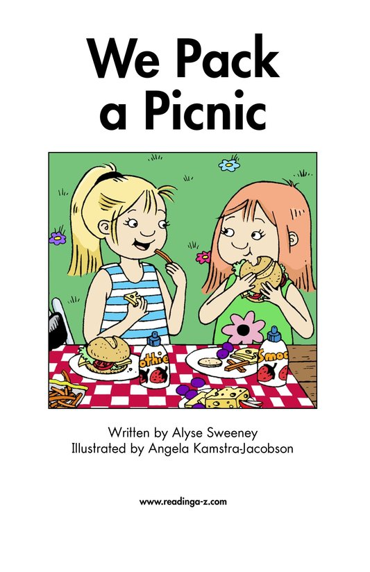 Book Preview For We Pack a Picnic Page 2