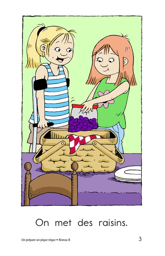 Book Preview For We Pack a Picnic Page 3