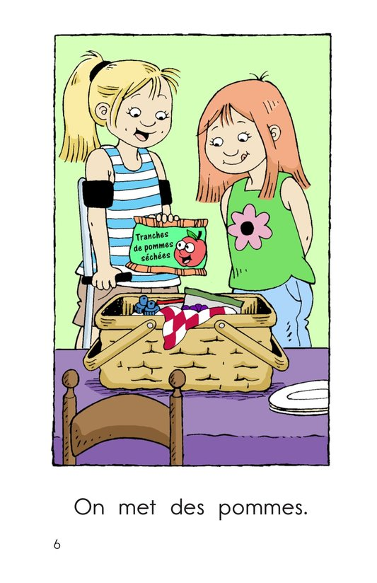 Book Preview For We Pack a Picnic Page 6