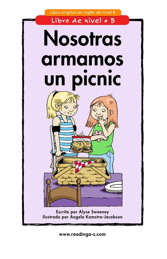 Book Preview For We Pack a Picnic Page 1