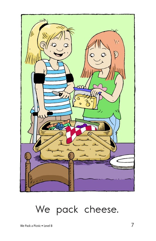 Book Preview For We Pack a Picnic Page 7