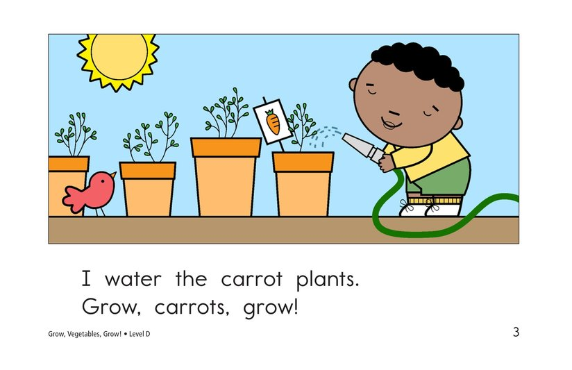 Book Preview For Grow, Vegetables, Grow! Page 3