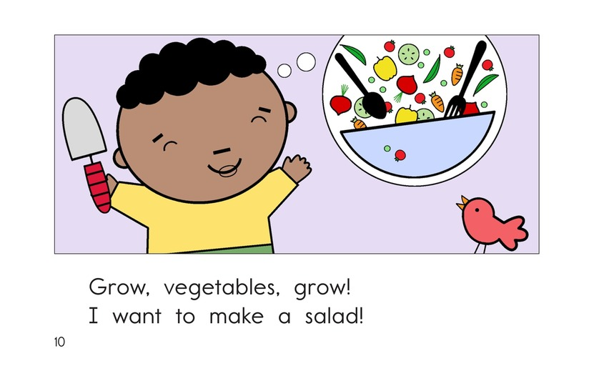 Book Preview For Grow, Vegetables, Grow! Page 10