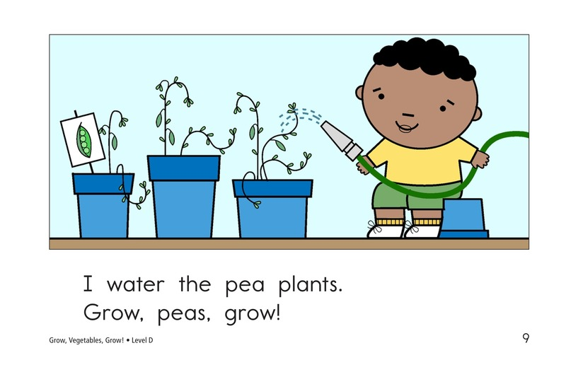 Book Preview For Grow, Vegetables, Grow! Page 9