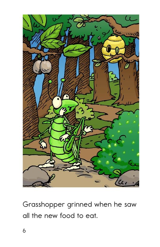 Book Preview For Grasshopper's Gross Lunch Page 6