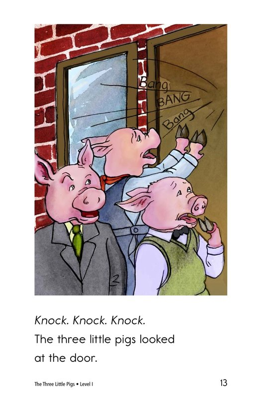 Book Preview For The Three Little Pigs Page 13