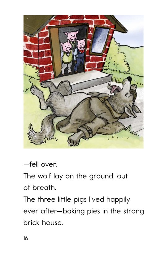 Book Preview For The Three Little Pigs Page 16