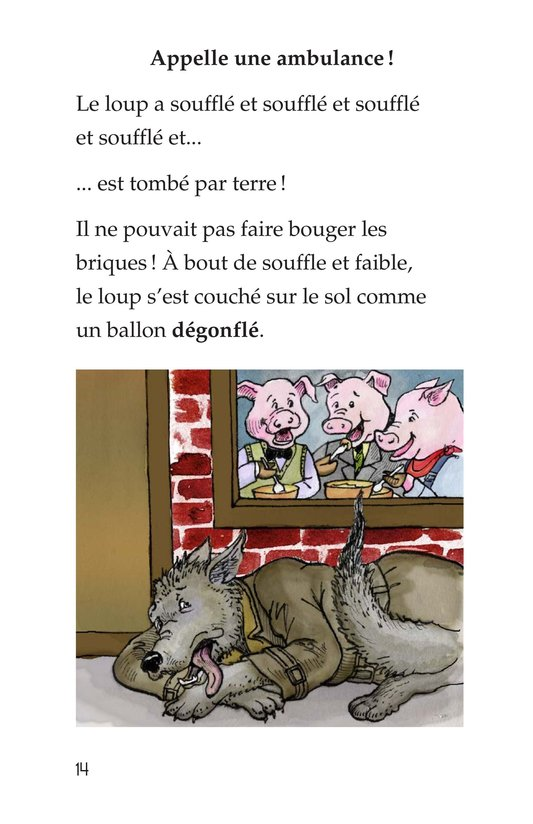 Book Preview For The Three Little Pigs Page 14