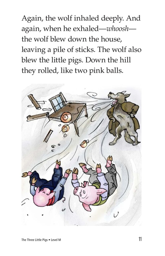 Book Preview For The Three Little Pigs Page 11