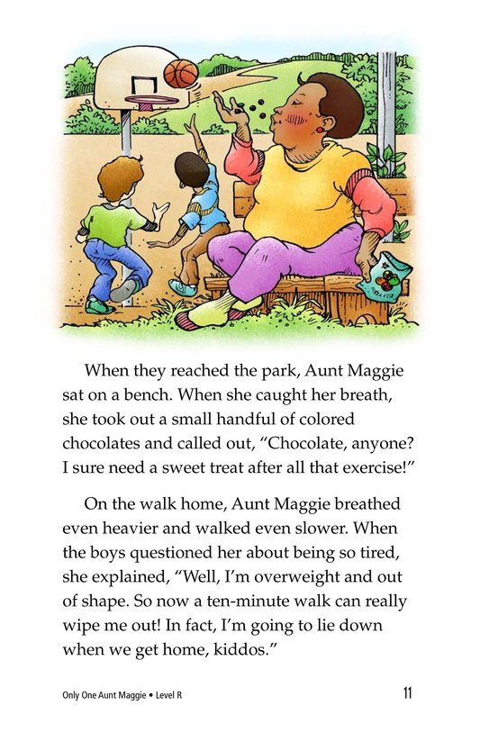 Book Preview For Only One Aunt Maggie Page 11