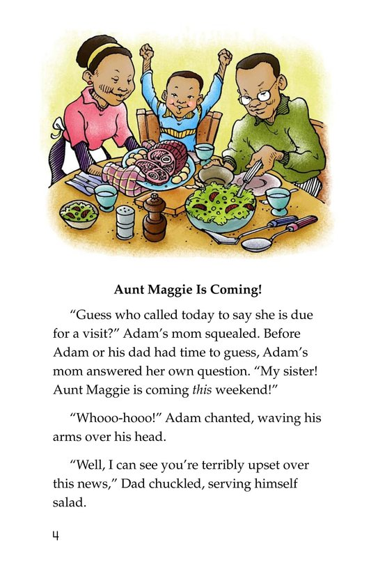 Book Preview For Only One Aunt Maggie Page 4