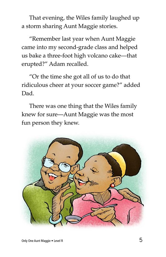 Book Preview For Only One Aunt Maggie Page 5