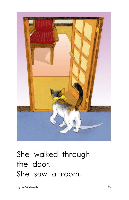Book Preview For Lily the Cat Page 5