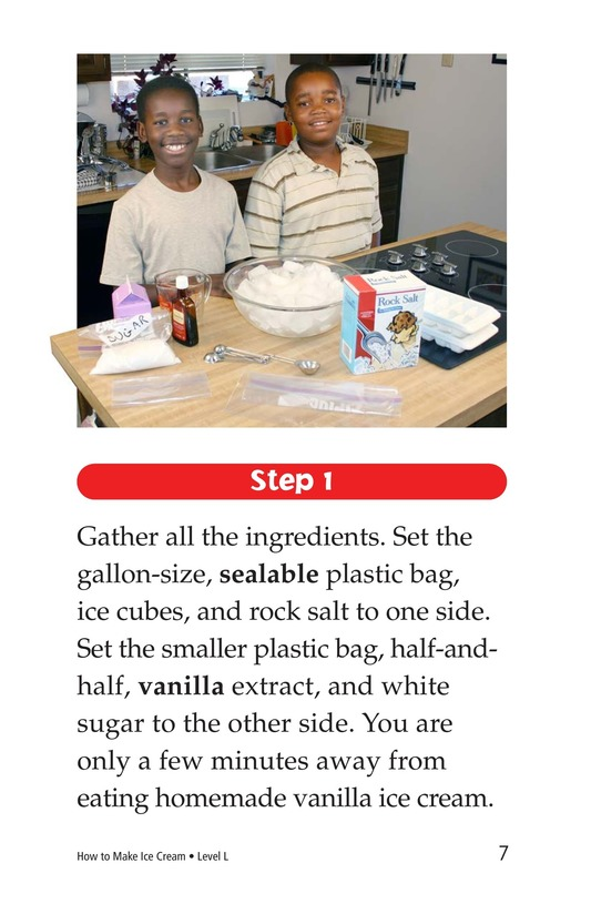 Book Preview For How to Make Ice Cream Page 7