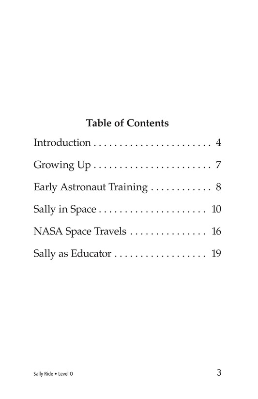 Book Preview For Sally Ride Page 3
