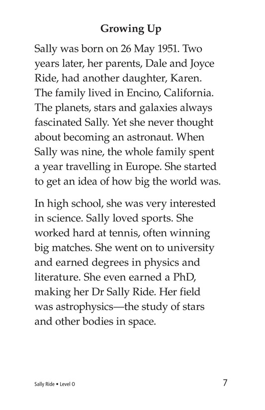 Book Preview For Sally Ride Page 7