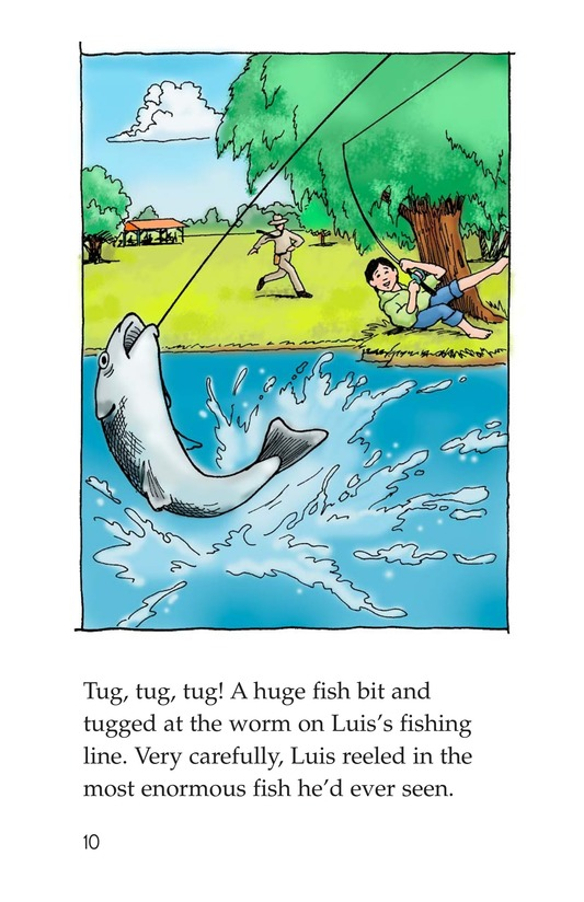Book Preview For The Fishing Derby Page 10