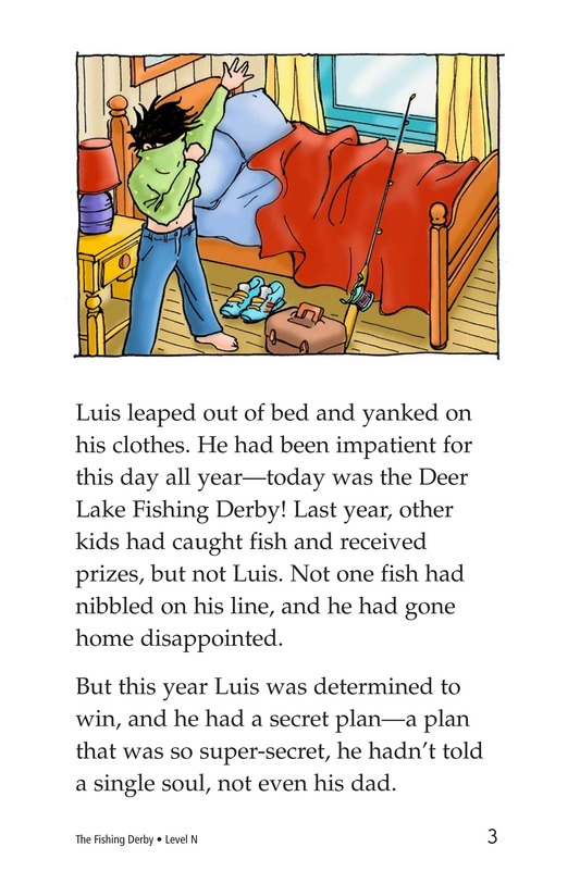 Book Preview For The Fishing Derby Page 3