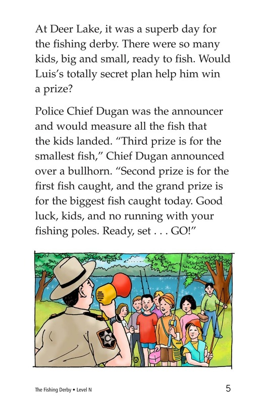 Book Preview For The Fishing Derby Page 5
