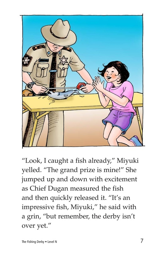 Book Preview For The Fishing Derby Page 7
