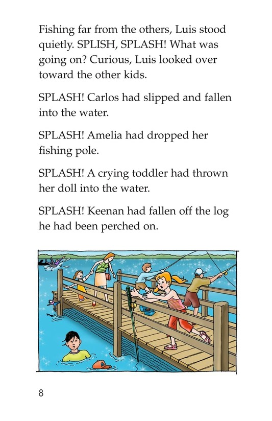 Book Preview For The Fishing Derby Page 8