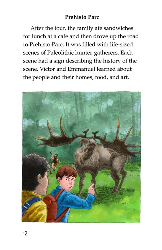 Book Preview For A Trip to a Prehistoric Cave Page 12