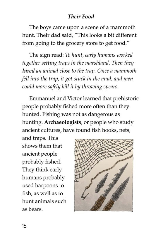 Book Preview For A Trip to a Prehistoric Cave Page 16