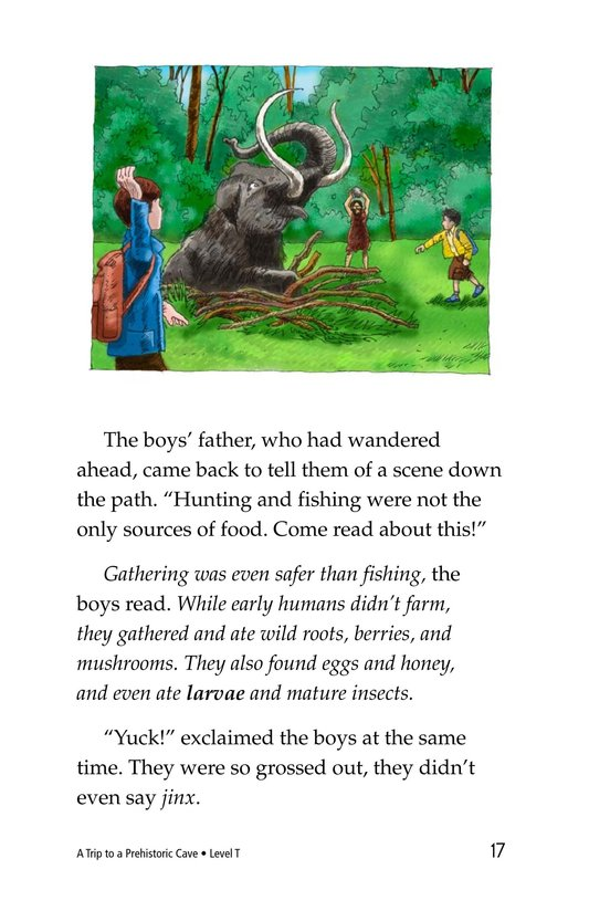 Book Preview For A Trip to a Prehistoric Cave Page 17