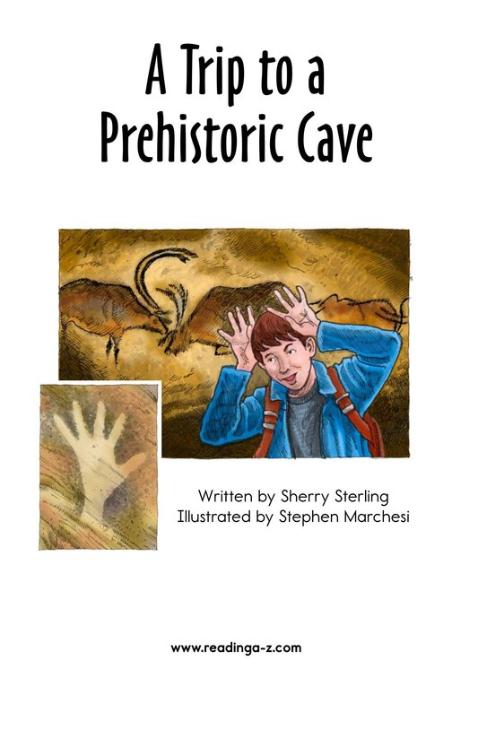 Book Preview For A Trip to a Prehistoric Cave Page 2