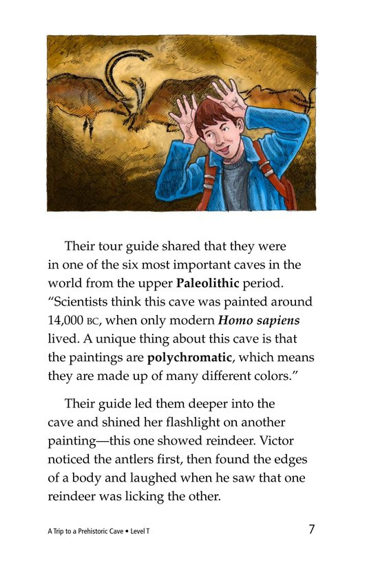 Book Preview For A Trip to a Prehistoric Cave Page 7