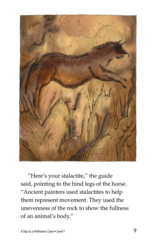 Book Preview For A Trip to a Prehistoric Cave Page 9