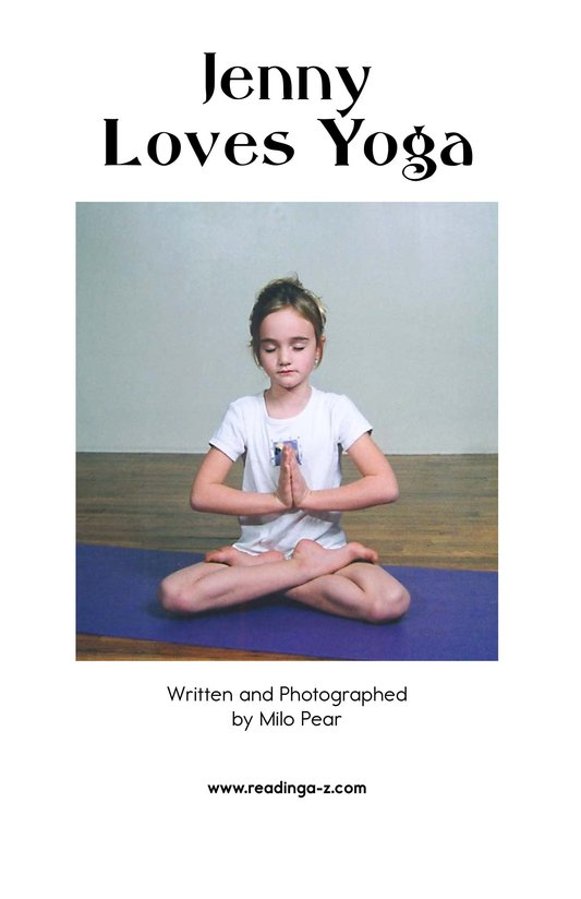 Book Preview For Jenny Loves Yoga Page 2
