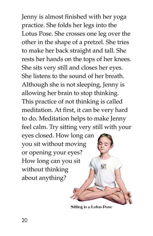Book Preview For Jenny Loves Yoga Page 20