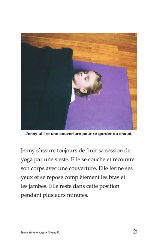 Book Preview For Jenny Loves Yoga Page 21