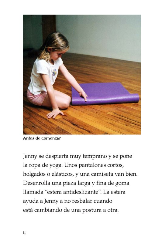 Book Preview For Jenny Loves Yoga Page 4