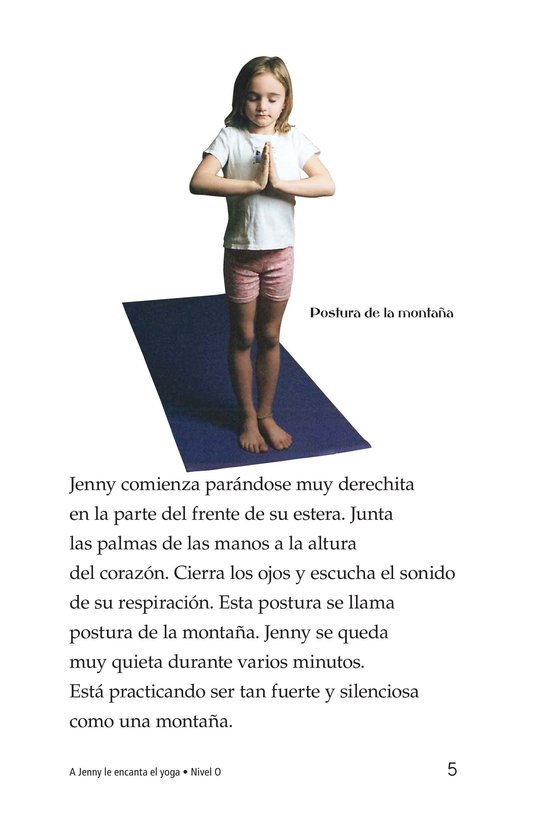 Book Preview For Jenny Loves Yoga Page 5