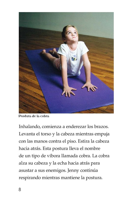 Book Preview For Jenny Loves Yoga Page 8