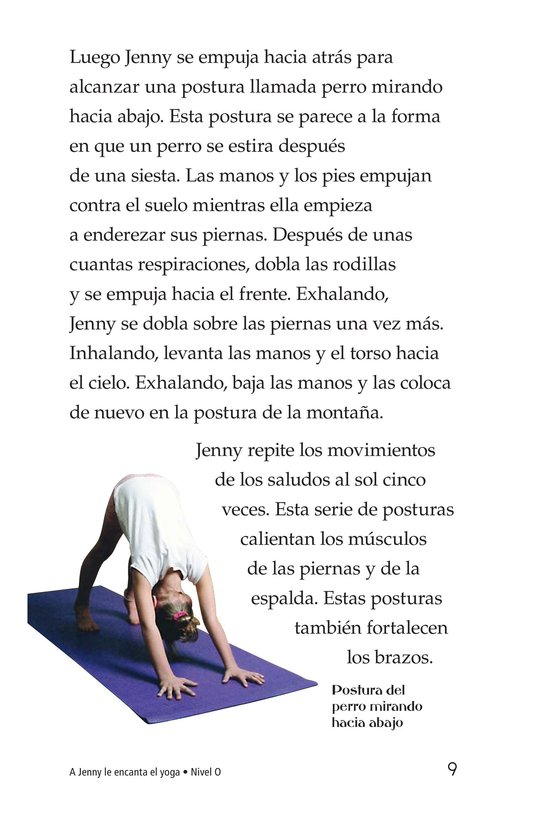 Book Preview For Jenny Loves Yoga Page 9