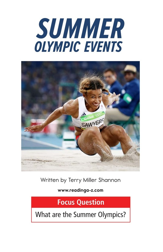Book Preview For Summer Olympics Events Page 1