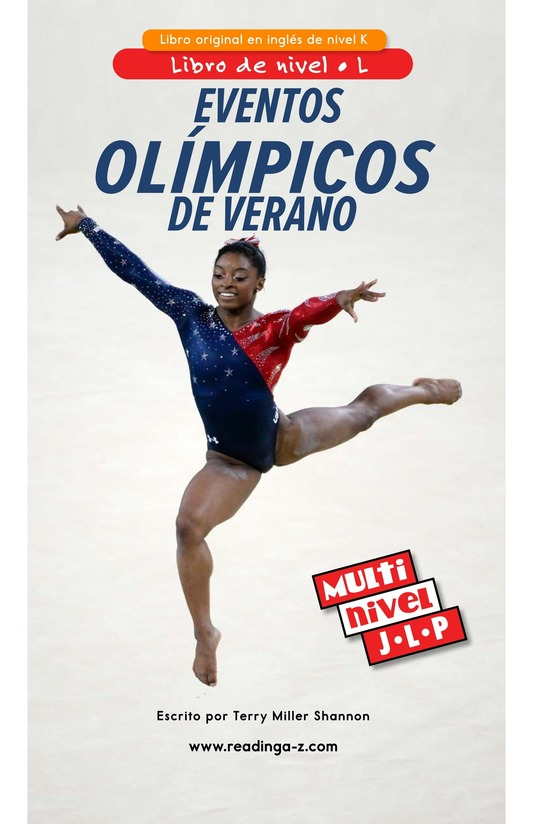 Book Preview For Summer Olympics Events Page 0