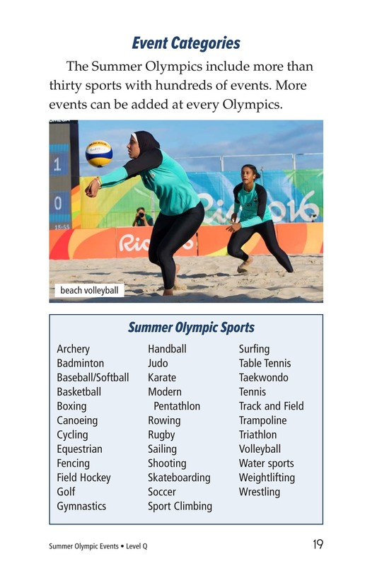 Book Preview For Summer Olympics Events Page 19
