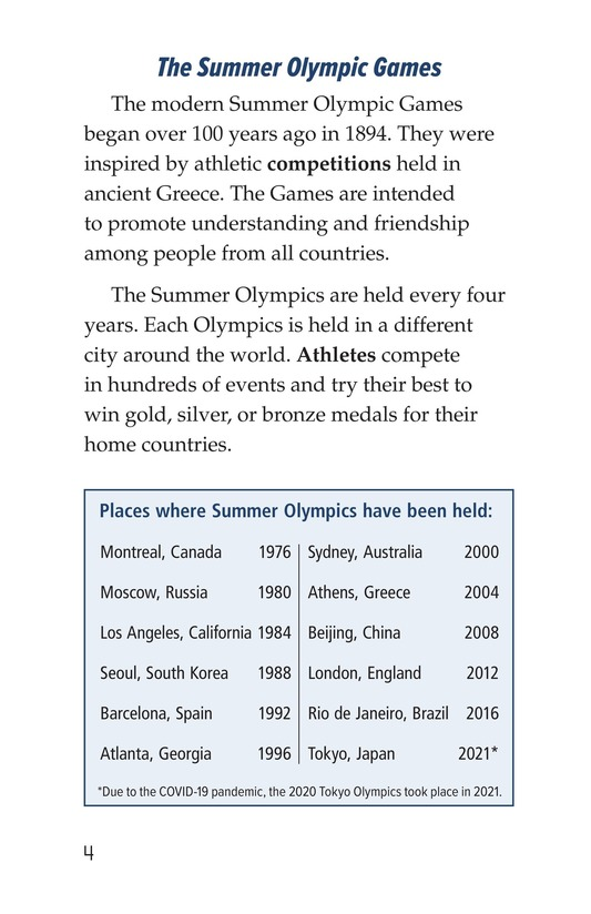 Book Preview For Summer Olympics Events Page 4