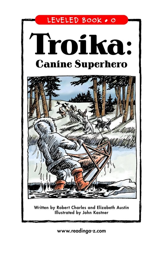 Book Preview For Troika: Canine Superhero Page 1