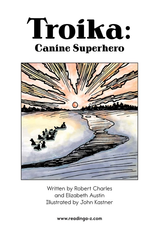Book Preview For Troika: Canine Superhero Page 2