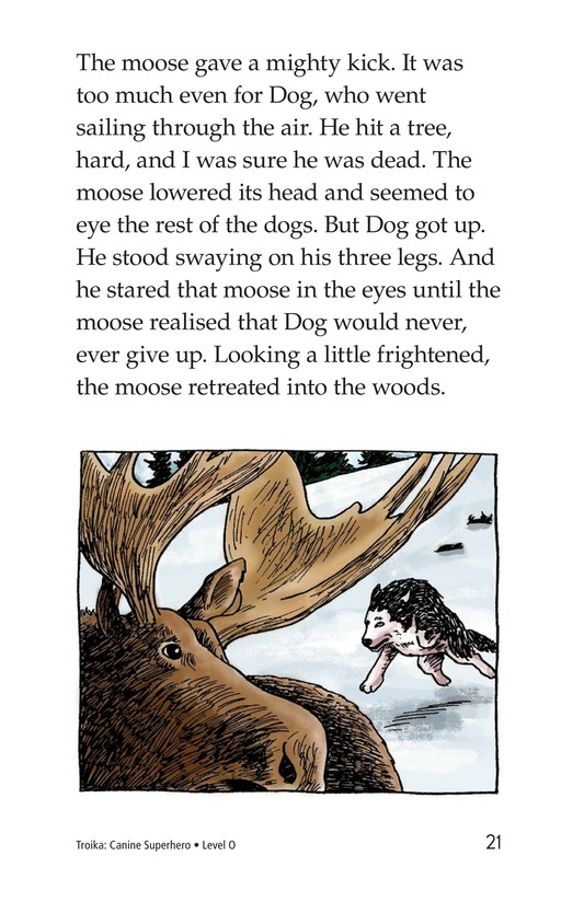 Book Preview For Troika: Canine Superhero Page 21