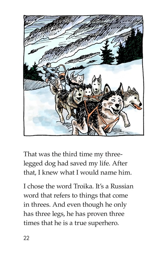 Book Preview For Troika: Canine Superhero Page 22
