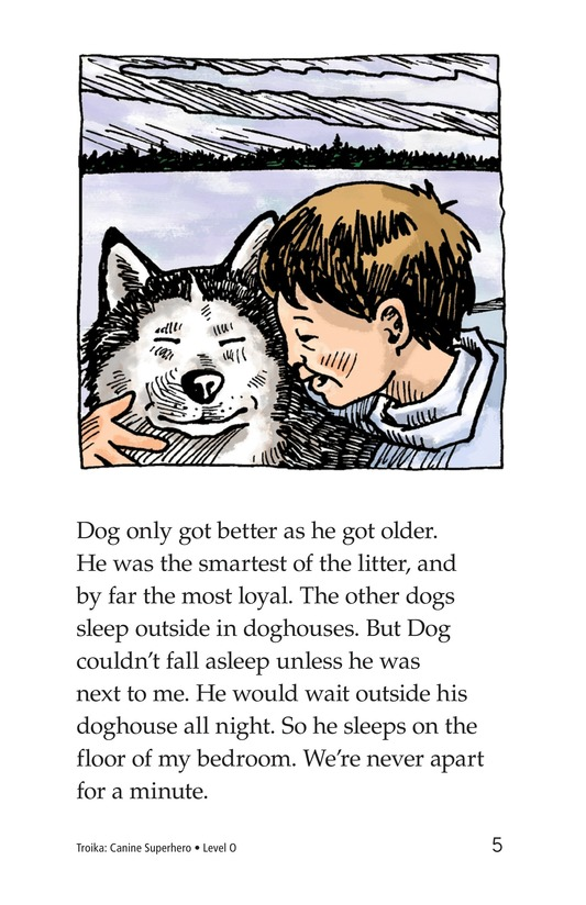 Book Preview For Troika: Canine Superhero Page 5