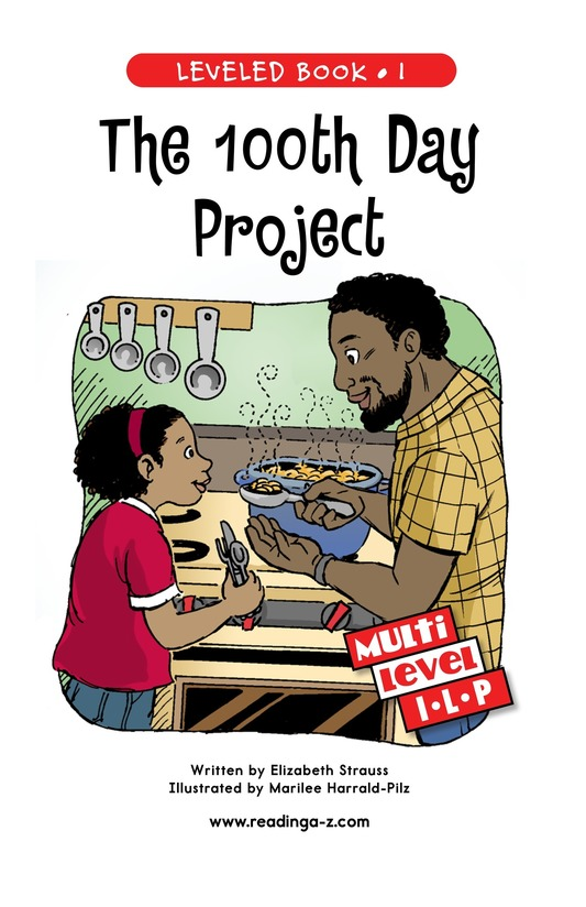 Book Preview For The 100th Day Project Page 1