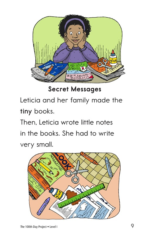 Book Preview For The 100th Day Project Page 9